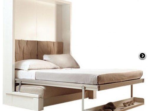 Krevet na sklapanje će riješiti problem nedostatka prostora